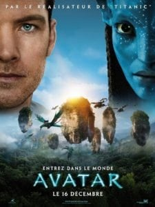 "Poster for the movie ""Avatar"""